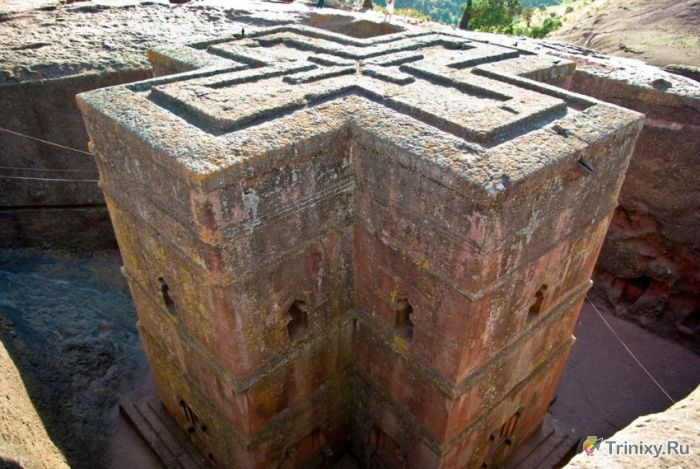 Древний комплекс церквей Лалибеллы (44 фото)