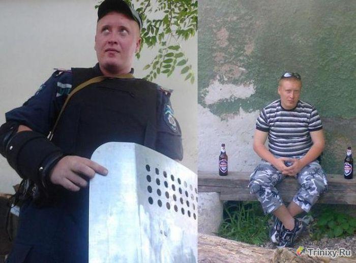 """Бойцы элитного подразделения """"Беркут"""" позорятся в соц сетях (27 фото)"""