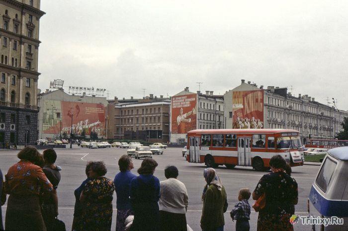 Советские снимки начала 80х годов в цвете (32 фото)