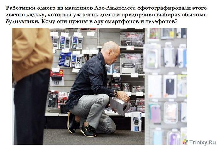 Необычный покупатель в магазине (3 фото)