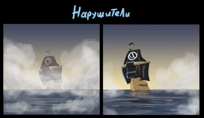 Неуловимые интернет-пираты (15 картинок)