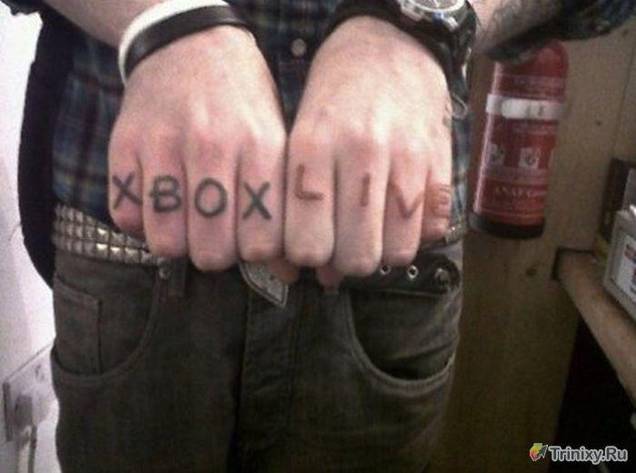 Самые неудачные татуировки (28 фото)