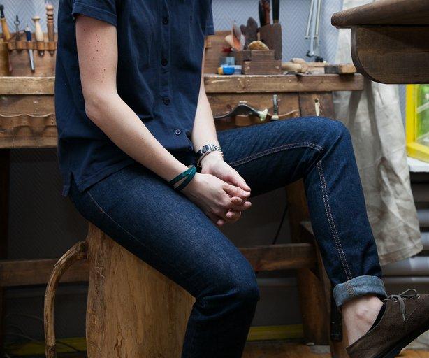 Что такое сырые джинсы?
