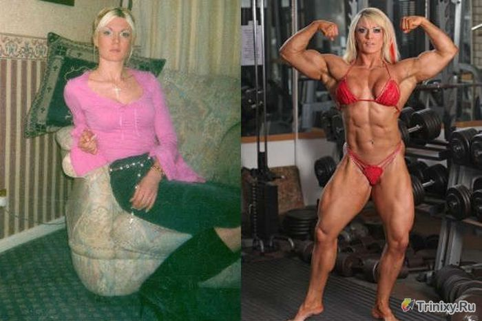 Анорексичка решила изменить свою жизнь (11 фото)