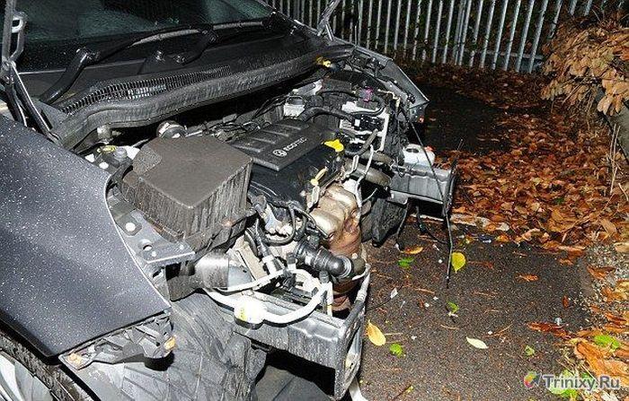 Автограбители удивили даже полицию (3 фото)