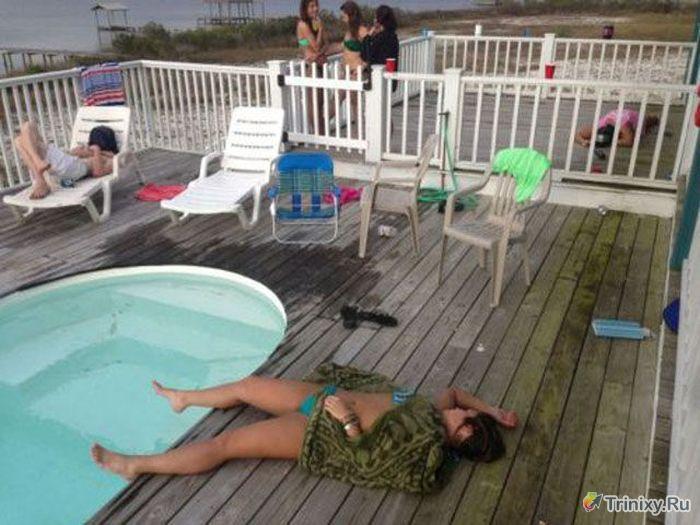 Очень пьяные люди (55 фото)