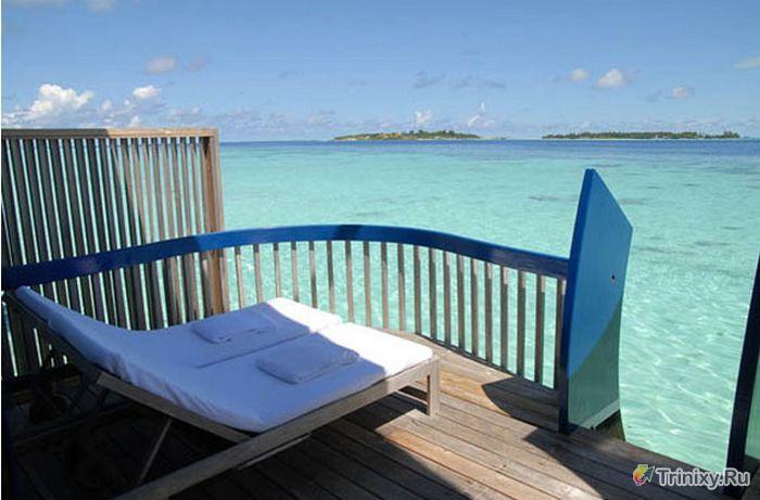 Райское место на Мальдивах (18 фото)