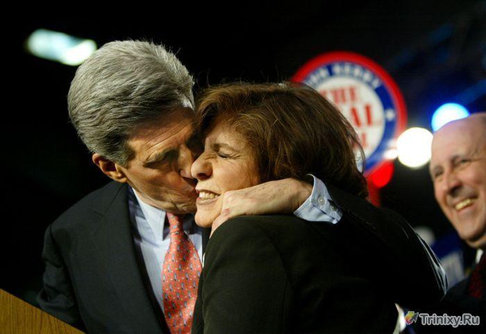 Самые отвратительные поцелуи (30 фото)