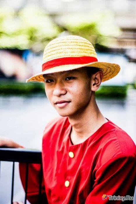 Лучший косплей с фестиваля в Таиланде (70 фото)