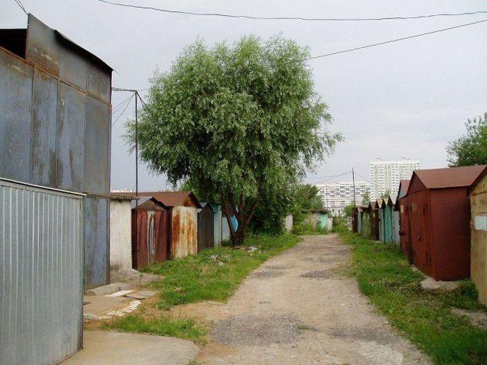 Гаражные кооперативы в Москве превращаются в жилые массивы (115 фото)