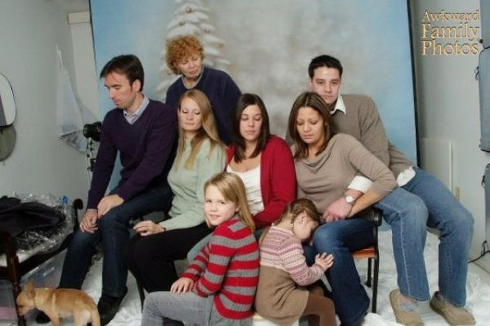 Необычные семейные фотографии (45 фото)