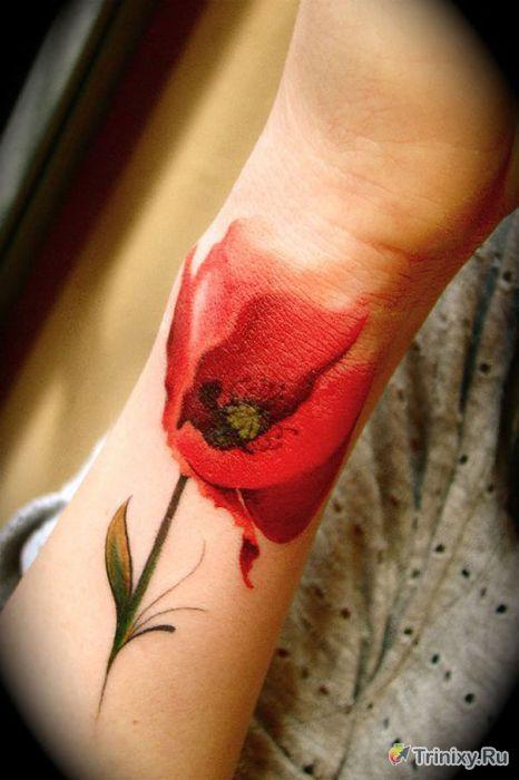 Удивительные татуировки (26 фото)