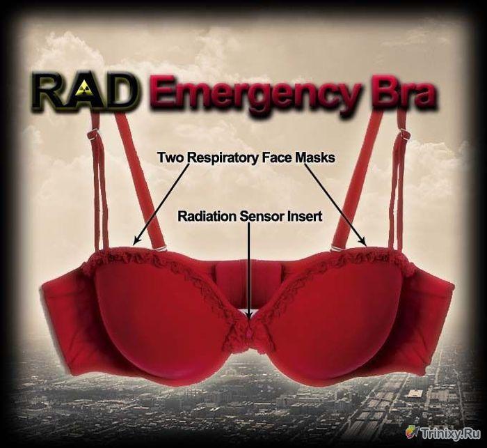 Nükleer Saldırı Önleyici Sütyen-RAD Emergency Bra (8 Fotograf)