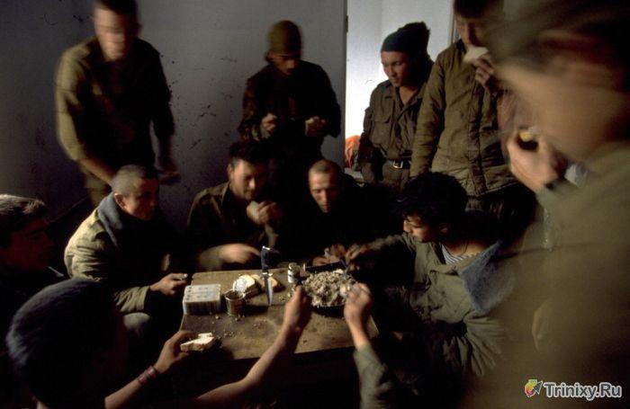 Будни русского спецназа в Чечне (23 фото)