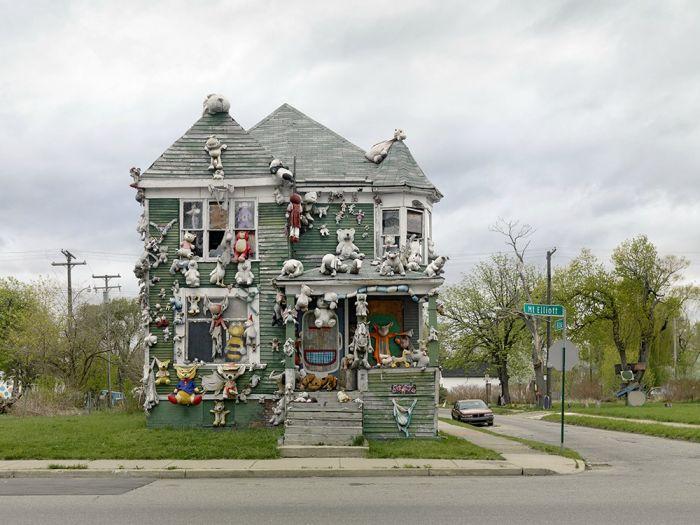 Альтернативный взгляд на американский город Детройт (28 фото)
