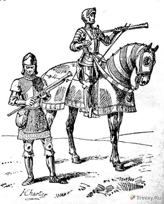 Необычные виды средневекового оружия (17 фото)