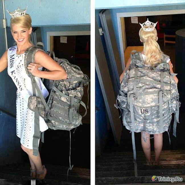 Необычная участница американского конкурса красоты (16 фото)