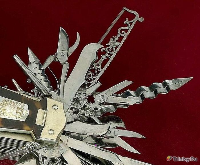 Самый необычный складной нож в мире (7 фото)
