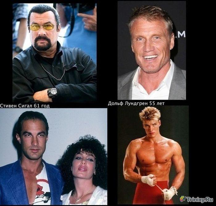 Как изменились известные актеры Голливуда (5 фото)