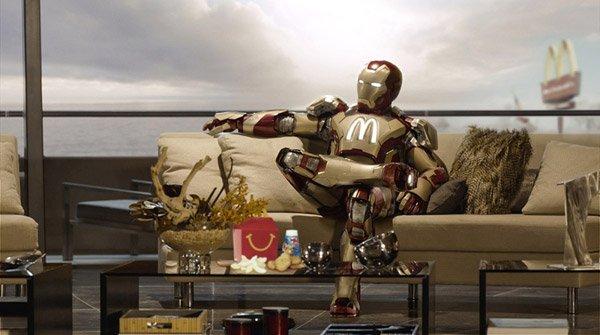 От Папая до Супермена: фотожабы с киногероями (12 фото)