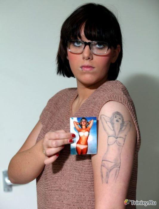Татуировка Мерилин Монро на плече (5 фото)