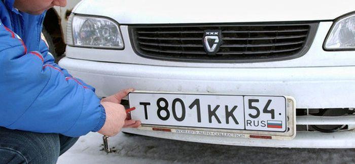 Как защитить номерной знак своего автомобиля от воров (9 фото)