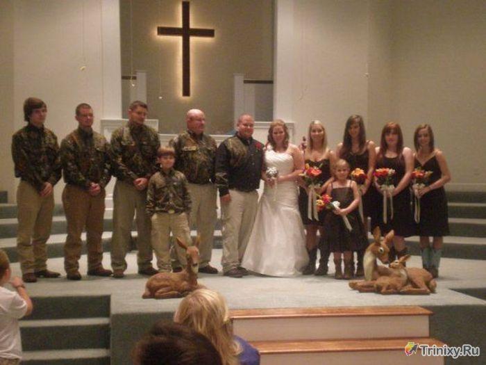 Забавные свадебные фотографии (41 фото)