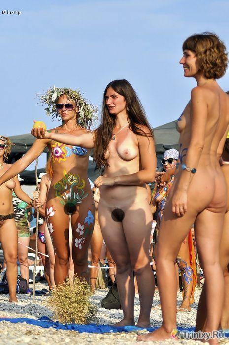 Фото Юных Нудисток На Конкурсах Красоты Во Франции