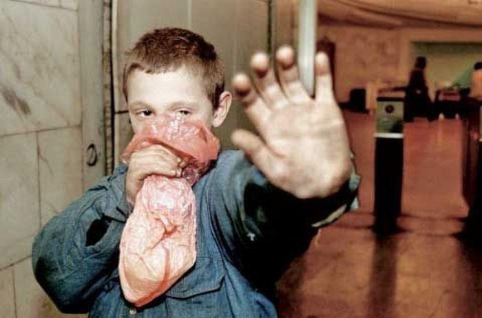 """Сомнительные """"развлечения"""" молодежи в начале 90-х годов (6 фото)"""