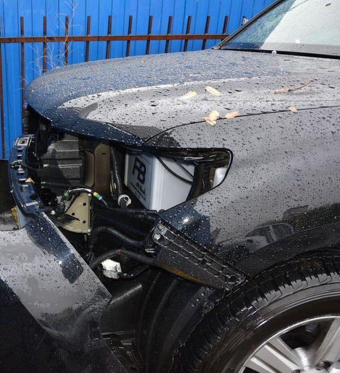 Нашел угнанный автомобиль по горячим следам (11 фото)