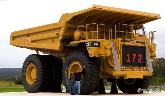 Огромные машины-монстры (35 фото)