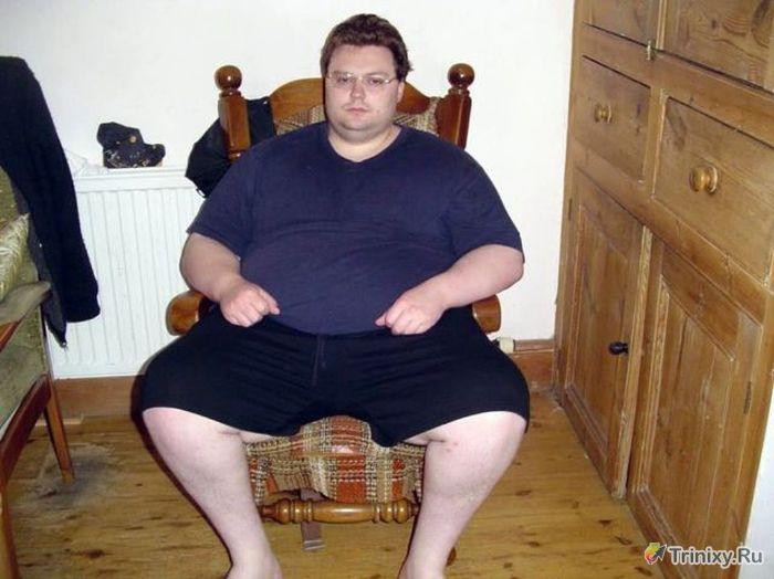История удивительного успеха одного толстяка (12 фото)