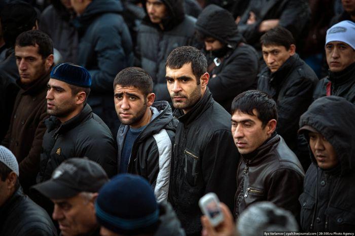 2013 Yılında Moskova'da Kurban Bayramı (56 Fotograf)