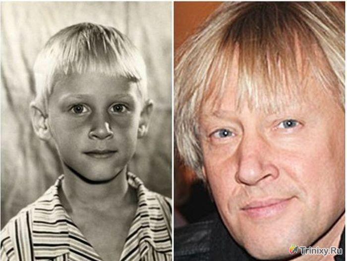очень красиво фотографии советских и российских актеров с детьми то
