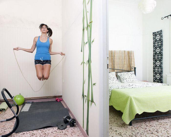Женские спальни в разных странах мира (37 фото)