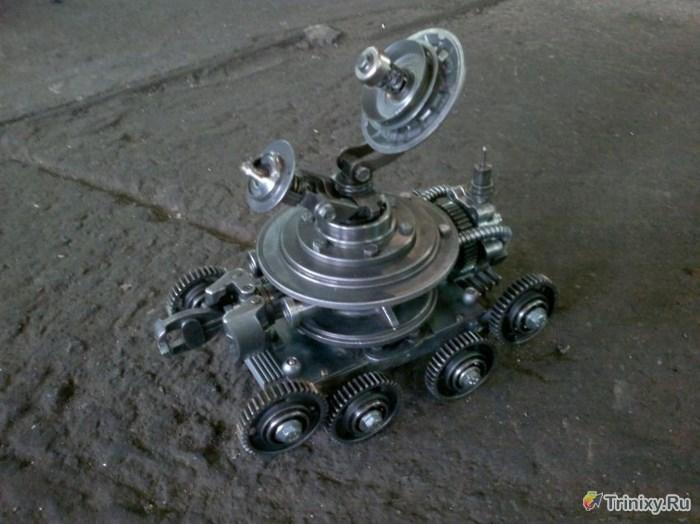 Креативное использование ненужных автомобильных запчастей (9 фото)