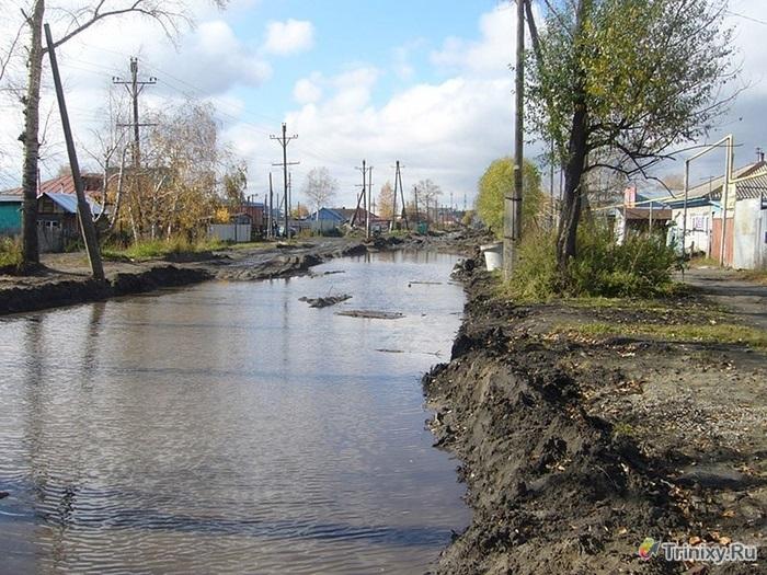 Барнаульская дорога до и после реконструкции или куда ушли деньги (15 фото)