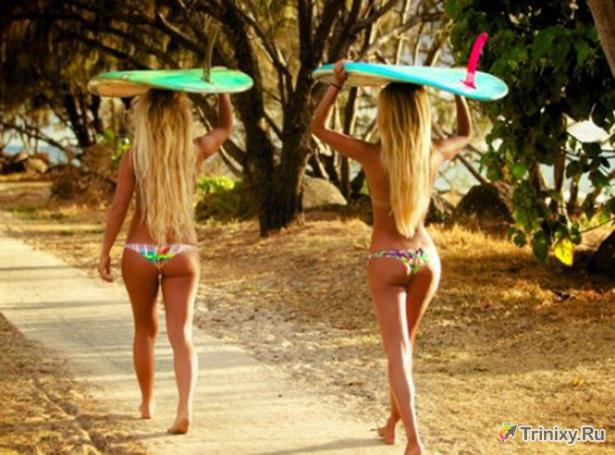 Красотки в бикини (46 фото)