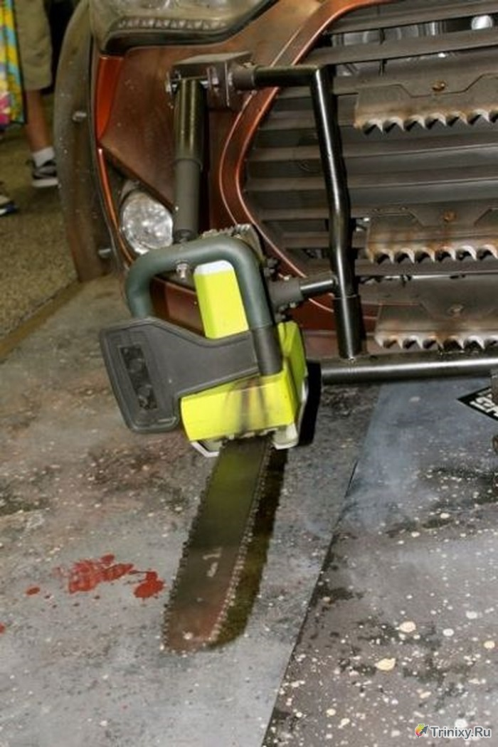 Идеальный автомобиль для выживания во время зомби-апокалипсиса (18 фото)