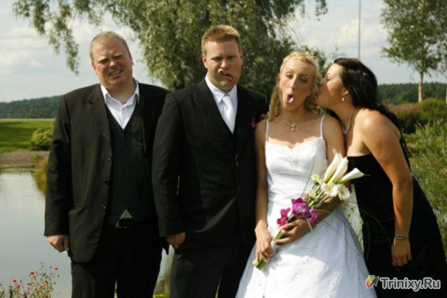 Смешные моменты со свадеб со всего мира (61 фото)