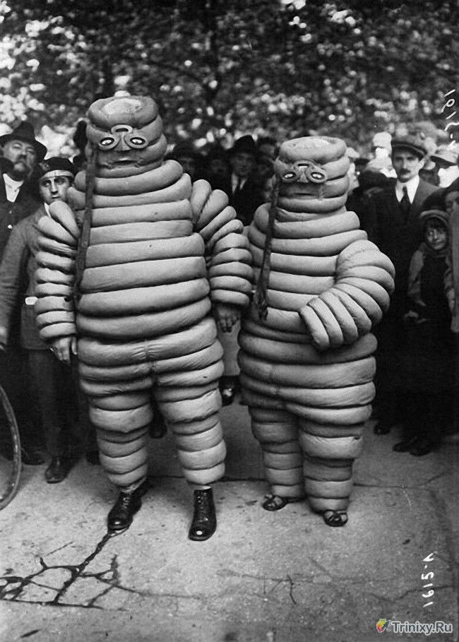 Хеллоуинские костюмы прошлых лет (20 фото)