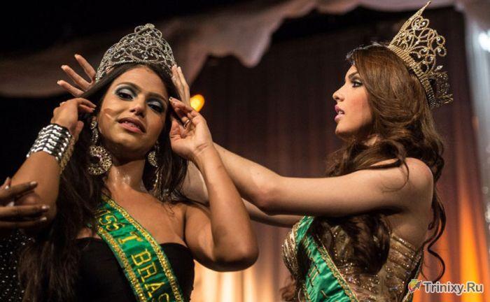Конкурс красоты для транссексуалов Miss T в Рио (24 фотографии)