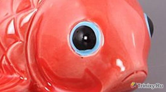 Печальная рыбка (4 фото)