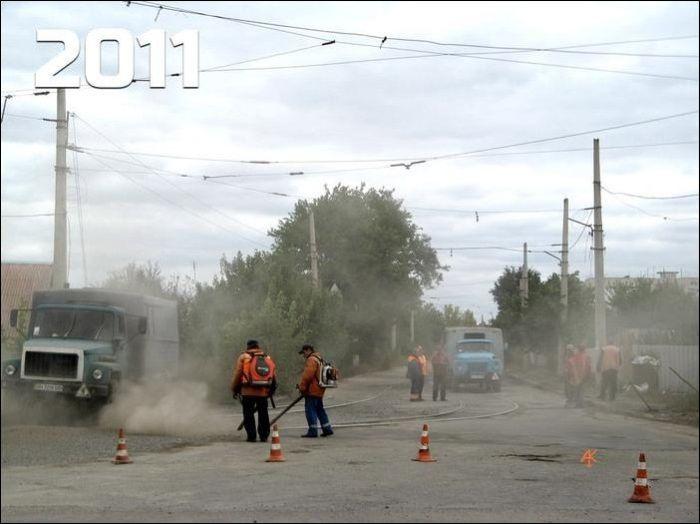 """""""Нечетный"""" украинский трамвай (3 фото)"""