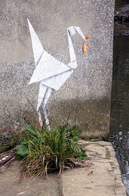 Удивительные живые граффити от мастера Бэнкси (28 фото)