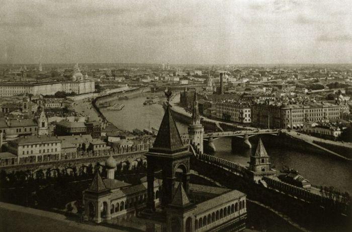 Архивные снимки Москвы 1920-х годов (37 фото)