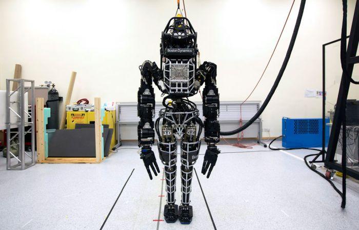 Роботы в жизни людей (32 фото)
