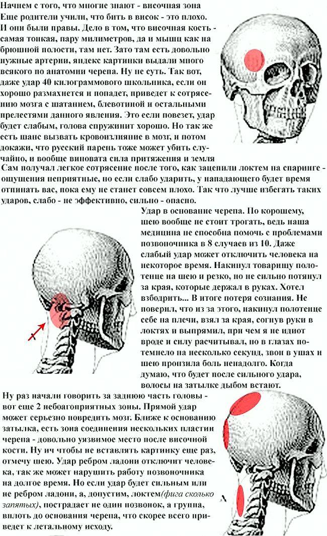 Как не убить противника во время драки (2 картинки)