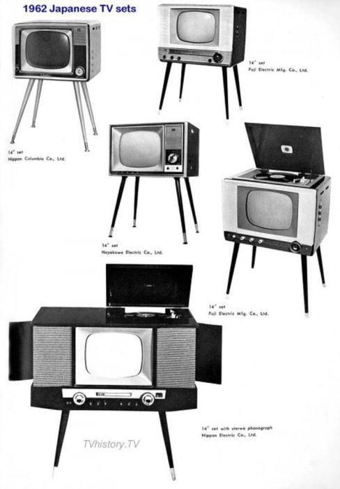 Редкие импортные телевизоры в Советском Союзе (71 фото)