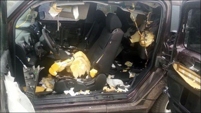 Не оставляйте конфеты внутри автомобиля в Колорадо (15 фото)